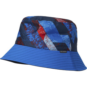 Columbia Pixel Grabber Bucket Hat Kinderen, super blue
